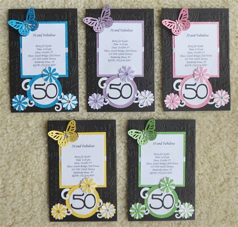 Handmade Birthday Invitation Card Ideas - handmade birthday invitations handmade invites
