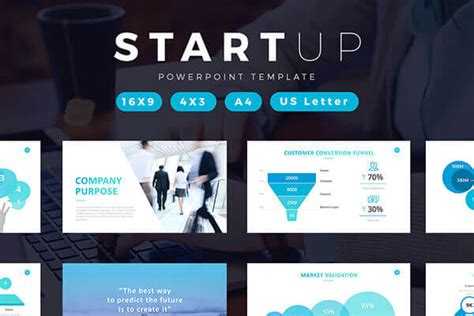 Startup Powerpoint Template To Create A Professional Pitch Deck Startup Powerpoint Template