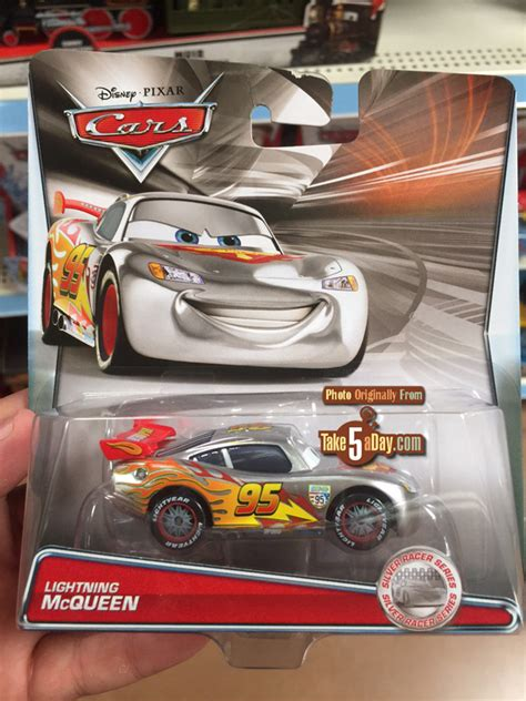 Mattel Disney Pixar Cars Troc Silver Racer Series Francesco Bernoulli mattel disney pixar cars silver racers a big return to walmart take five a day