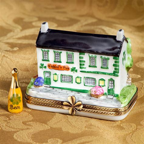limoges  ed irish pub box  cottage shop