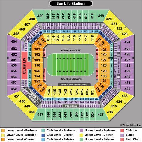dolphin stadium seating chart 3d sun stadium seating chart 3d miami dolphins