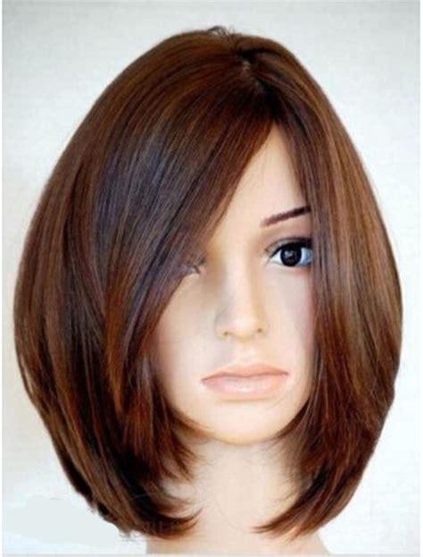 hair styles for straight human hair soft natural medium straight bob 100 human hair full lace