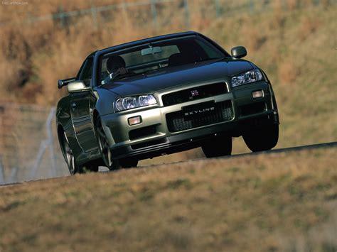 Nissan Skyline GT R V spec II (2000)