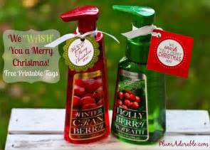 we wash you a merry christmas gift idea free printable