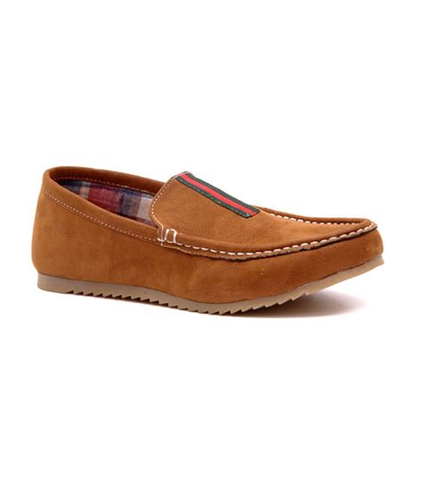 kenike brown faux leather casual shoes for boys price in