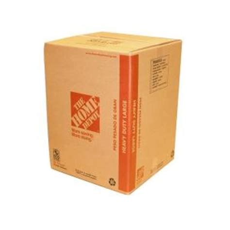 home depot small moving box the home depot 18 in x 18 in x 24 in 65 lb capacity