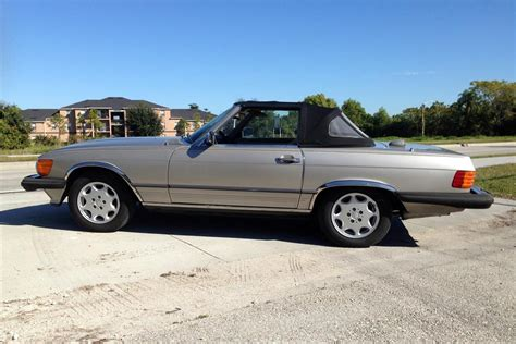 1986 mercedes 560sl convertible 183917