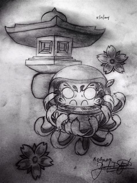 daruma doll tattoo designs daruma doll artwork by kid solace daruma
