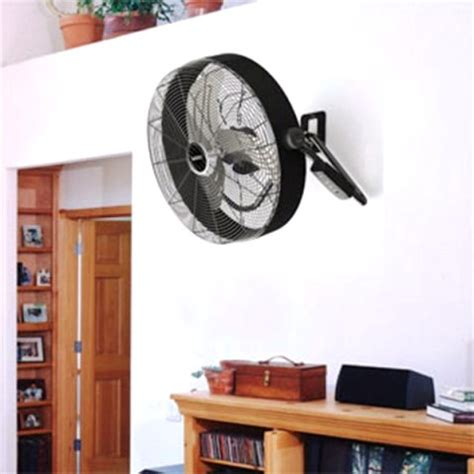quiet wall mount fan with remote lasko h20685 20 inch 3 speeds high velocity box wall
