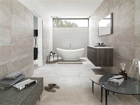 Bathroom Flooring Ideas Uk by Porcelanosa Park Acero Inspired Ceramics Co Uk