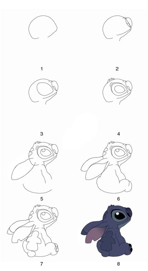 Drawing Step By Step Disney Characters by 25 Best Ideas About Step By Step Drawing On