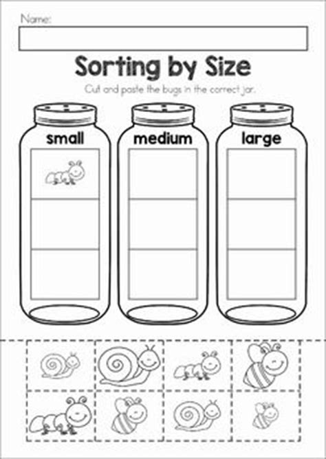 printable preschool sorting activities pinterest the world s catalog of ideas