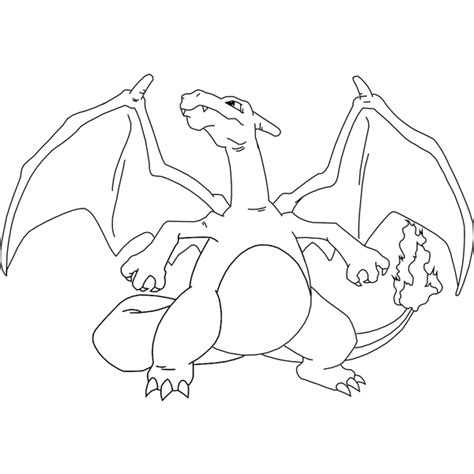 Charizard Template mega charizard coloring pages car interior design