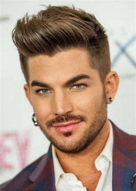 popular male hairstyles adam lambert short straight 100 mens hairstyles 2015 2016 trend haircuts