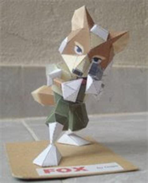 Fox Papercraft - september 2008 papercraft paradise papercrafts paper