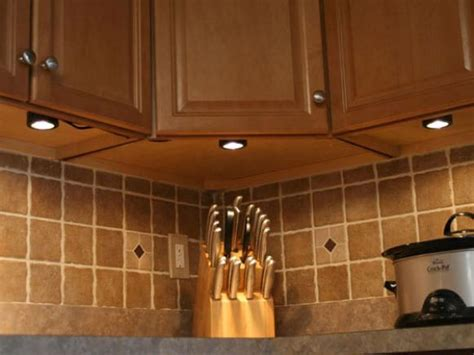 kitchen cabinet undermount lighting installing under cabinet lighting hgtv