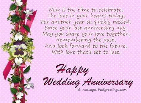 Wedding Anniversary Greetings And Messages by Anniversary Wishes Messages For Friends 365greetings