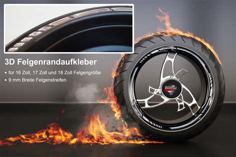 Felgenrandaufkleber Chrom by Felgenrandaufkleber Gp Style 3d Chrom 700009 F 252 R 16 Zoll