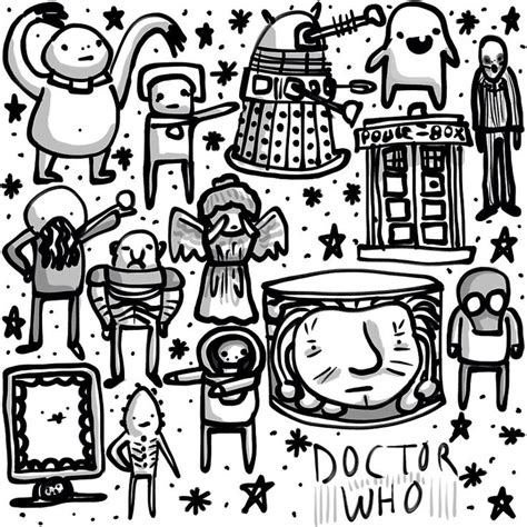 doodle doctor who 17 best images about colouring pages for grown ups on