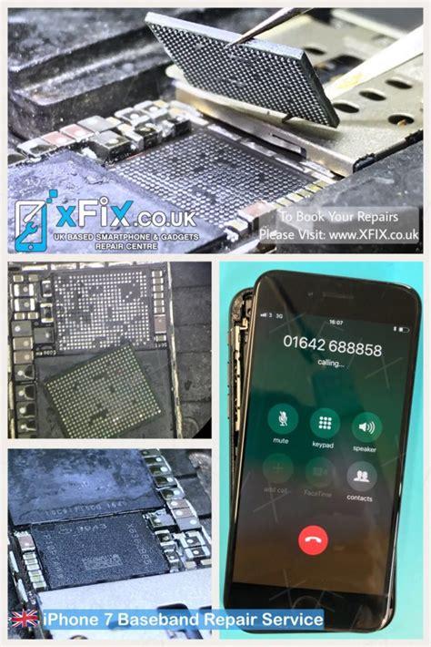 fix iphone   detecting sim card baseband ic xfix
