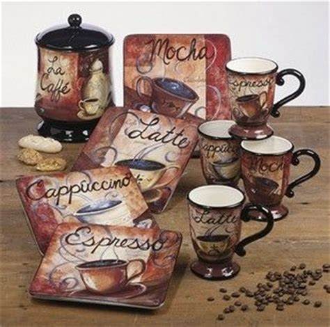 coffee themed kitchen canister sets best home decoration top 25 best coffee theme ideas on pinterest coffee