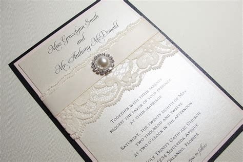 Invitations Handmade - pearl wedding accessories handmade etsy wedding finds