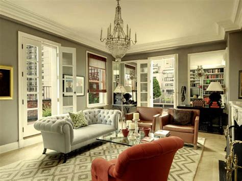 modern vintage decor small penthouse in manhattan classy interior design ideas