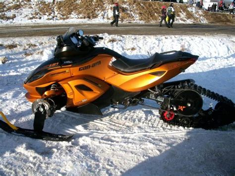 snow can can am spyder rss snow conversion