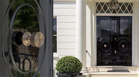 Center Door Knobs by New Sleek Lever Handle Joseph Giles