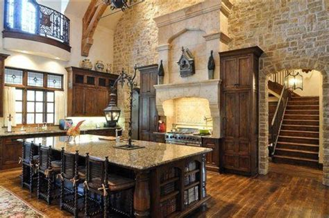 Large Island Kitchen Impressive Big Kitchen Island Designs With Bookcase