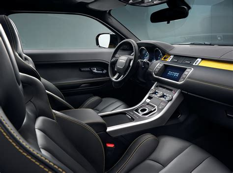 Range Rover Evoque Interior Images by 2013 Land Rover Range Rover Evoque Coupe Sport