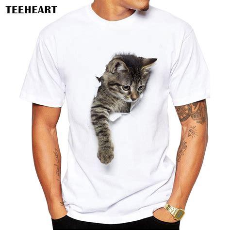 The 3d Shirt teeheart 3d cat t shirts summer tops tees print