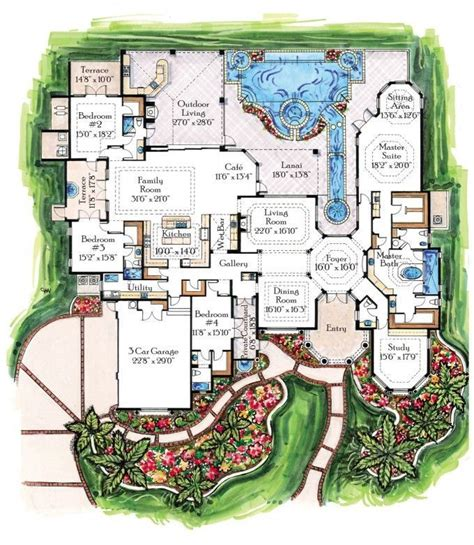 luxury floor plans with pictures 15 must see tropical houses pins tropical house design