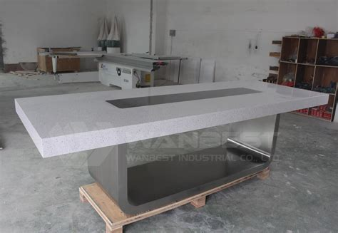 Grey Meeting Table Modern Conference Table Meeting Desk