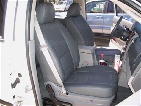 2004 durango seat covers dodge durango 1998 2004 leather like custom seat cover ebay