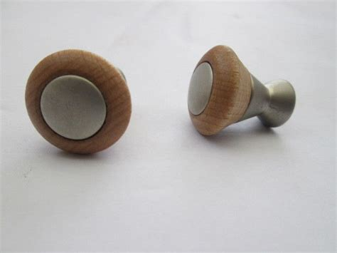 Decorative Wooden Knobs by 10 X Beech Wooden Decorative Cupboard Cabinet Drawer