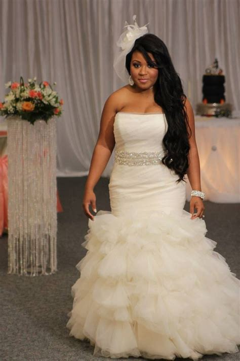 Wedding Hair Vero by Vera Wang Mermaid Dress With Added Belt Our Wedding Day