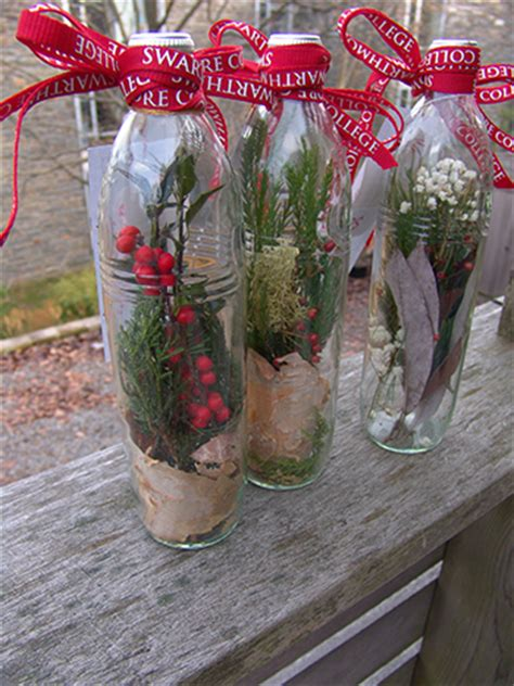 message in a bottle garden holiday gifts the scott