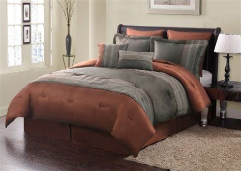rust colored bedding incredible 9 best bedroom images on pinterest throughout