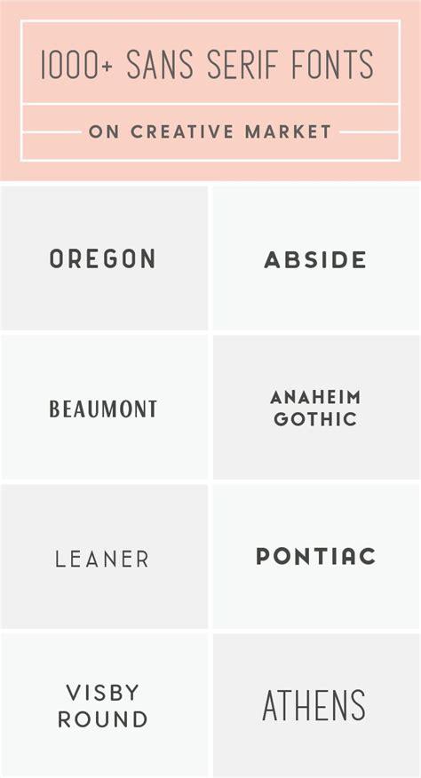 best sans serif fonts best 25 serif ideas on serif font