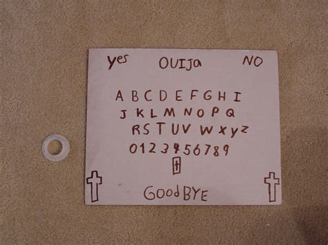 How To Make A Board With Paper - ouija board