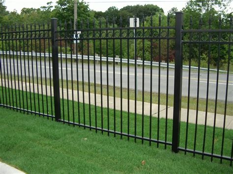 wrought iron fence lighting wrought iron fence residential wrought iron fencing 54