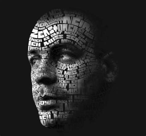 tutorial face typography illustrator 80 amazing exles of typography portrait 56pixels com