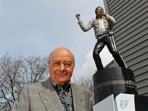 michael jackson statue craven cottage michael jackson statue former fulham owner mohamed al