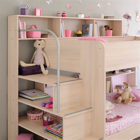 Parisot Bibop Bunk Bed Parisot Kurt Bibop Bunk Bed In Acacia Beds