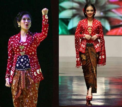 Kebaya Kutu Baru Kombinasi Fushia 1000 images about kebaya kutu baru on on canvas javanese and fashion weeks