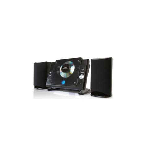 coby cxcd bk stereo desktop mini audio system black