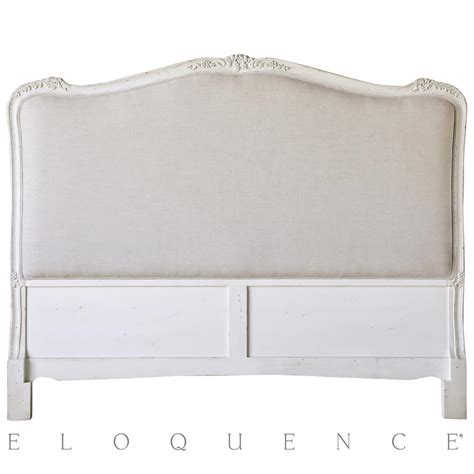 antique white queen headboard eloquence sophia queen headboard in antique white kathy