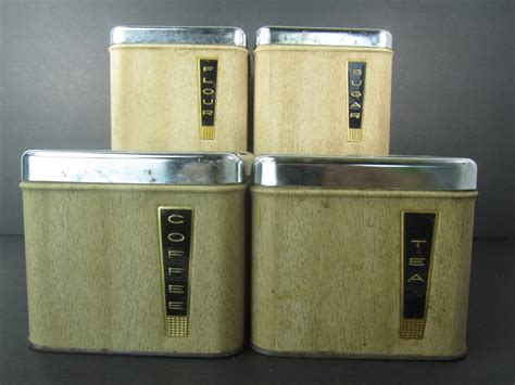 Metal Kitchen Canisters metal canisters kitchen retro canisters metal canister