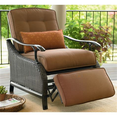 reclining outdoor chair with footrest 25 best collection of outdoor recliner lounge chair
